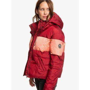 Roxy Medium Cropped Hooded Puffer Jacket